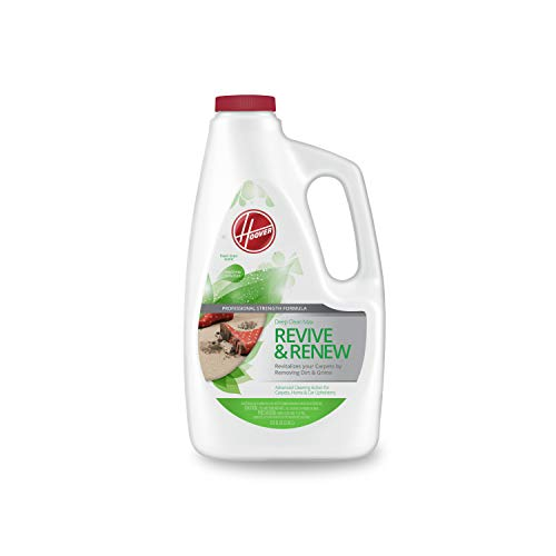 Hoover Max Revive and Renew Deep Cleaning Carpet Shampoo, Concentrated Machine Cleaner Solution, 120 oz Formula, AH30830, White