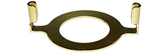Upgradelights Slip Uno Adapter Harp Converter Lamp Shade Uno Euro Fitter 1 9/16 I.d. with a Phenolic Ring