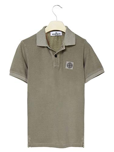 Stone Island Luxury Fashion Junge 721620949V0055 Grün Baumwolle Poloshirt | Frühling Sommer 20