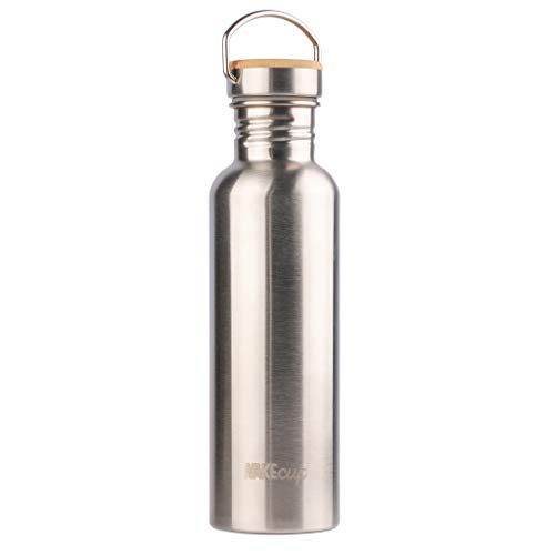 WAKEcup Stainless steel water bottle | 750ml no leak bottle | eco-friendly and sustainable...