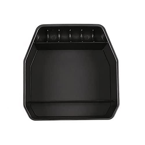 MSRRY Centro Console Organizer Tray Fit para Land Rover Defender 110 2020 2021 Caja De Almacenamiento del Reposabrazos con Accesorios De Estera De Goma