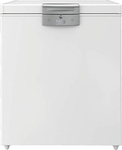 Beko HS14540N Gefriertruhe/148 l/39 dB/HxBxT: 91,2x75,1x72,5 cm