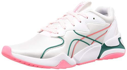 PUMA Nova Hypertech Wn's, Zapatillas Mujer, Blanco White, 37.5 EU