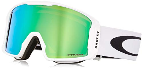Oakley 0OO7070 Line Miner Matte White Snow Goggles, Japan One Size (Free Size)