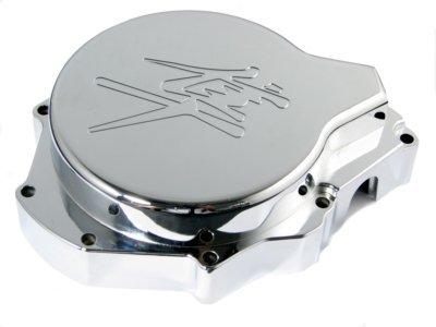 Left Chromed Stator Engine Cover for Suzuki GSXR1300 99 00 01 02 03 04 05 06 07 1999-2007