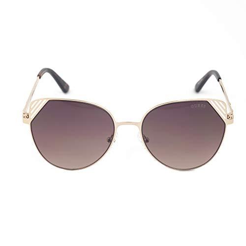 Guess GF6056-5532F Gafas de sol, Dorado, 55 para Mujer