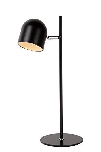 Lucide SKANSKA - Lampe De Bureau - Ø 16 cm - LED Dim. - 1x5W 3000K - Noir