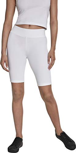 Urban Classics Ladies Cycle Shorts, Blanc (White 00220), 42 (Taille Fabricant: Large) Femme