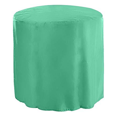 Yencoly Protección de Mesa, Funda para Muebles, Ligero Impermeable para sofá(Green)