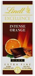 Lindt Excellence Dark Chocolate - Orange Intense (100g)