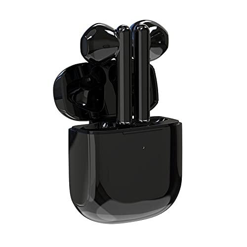 Auriculares Bluetooth Draadloos Binaural Touch-oplaadcompartiment Gaming Tws-headset 5.0, Geschikt Voor Buitensporten Op Kantoor, Leren Spelgeschenken(Color: negro)