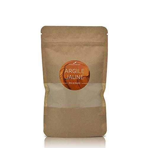 Argile JAUNE - La Compagnie des Sens - 150g - Argile Brute 100% naturelle, qualité Premium - Pour la cosmétique maison