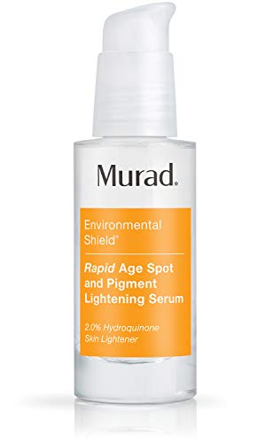 Murad Environmental Shield Rapid Age Spot and Pigment Lightening Serum - Clinically Proven Dark Spot Corrector and Resurfacing Serum - 2% Hydroquinone Face Serum, 1.0 Fl Oz