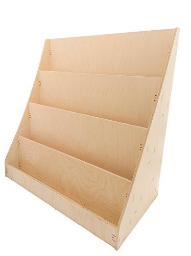 Bibliothèque en bois de bouleau pour enfant