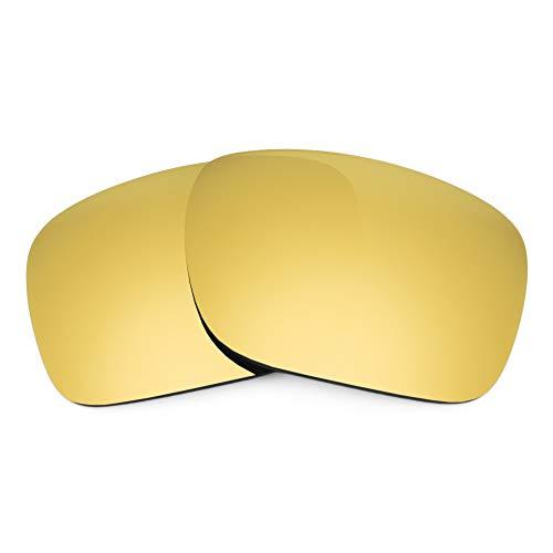 Revant Lentes de Repuesto Compatibles con Gafas de Sol Spy Optic Montana, No Polarizados, Dorado MirrorShield