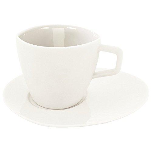 Ritzenhoff KOI Espressoset - Weiß, Espresso Cup&Saucer - White, Espressotasse mit Untertasse, 2540036