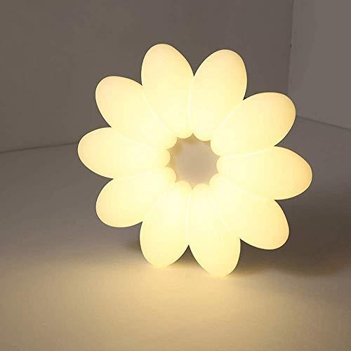 Lámpara de Techo LED Redonda Flor Blanca Lámpara de Techo contemporánea Iluminación acrílica Sala de Estar Dormitorio Comedor Tránsito Decoración del Pasillo Iluminación Interior
