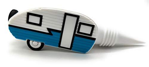 JTEC Weinflaschenverschluss für Wohnmobile, Vintage-Dekoration, Wohnmobil Zubehör für Innenbereich, Retro-Camper Dekor, Geschenke für Wohnmobile, Campinganhänger, Weinflaschenverschluss