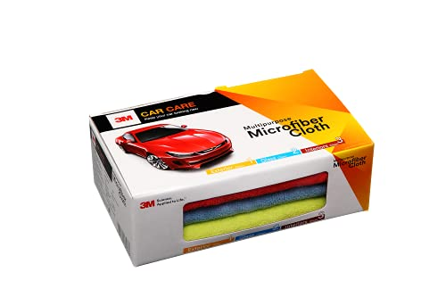 3M Car Care Microfiber Cloth (3 Pieces)