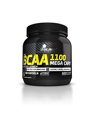 2 x Olimp BCAA 1100, 300 Mega Caps (2er Pack)