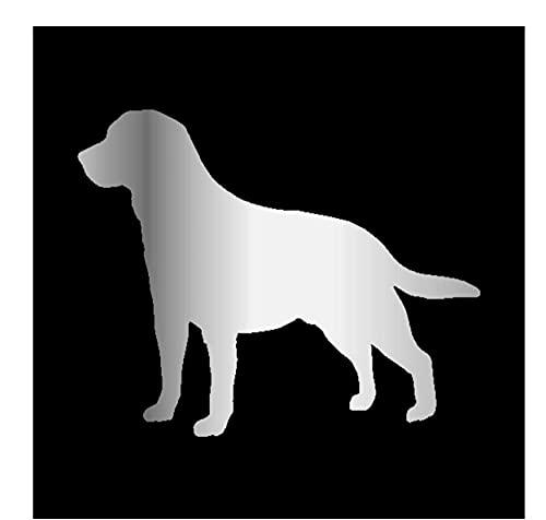 MDGCYDR Pegatinas Coche 15,5 * 12,7 Cm Divertido 3D S Labrador Retriever...