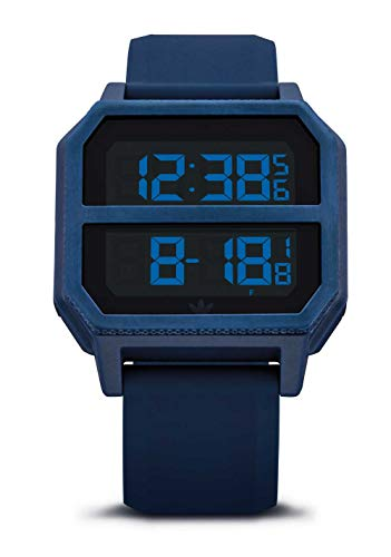 Adidas Watches Archive_R2. Grey Silicone, 22mm Band Width
