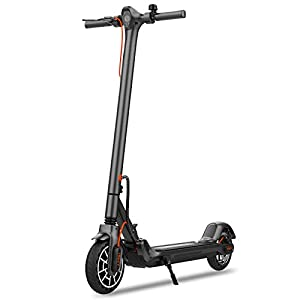 Hiboy MAX V2 Patinete Eléctrico, Scooter eléctrico con App, 25KM / H, Alcance hasta 27KM, neumáticos de 8.5 Pulgadas e-Scooter Plegable - para Adultos