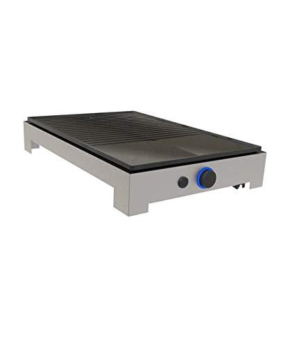 Ohmex OHM-GRIL-1012 - Plancha eléctrica (1800 W, ajuste de la temperatura)