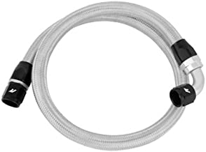 Mishimoto MMSBH-10-3 3ft Stainless Steel Braided Hose w/ -10AN Fittings, Silver