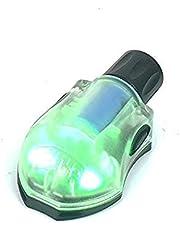Will Outdoor Casco táctico Luz estroboscópica Infrarrojo Militar Luz de Supervivencia aerotransportada Luz de Casco rápido Impermeable y Cinta mágica para Elemento de Casco