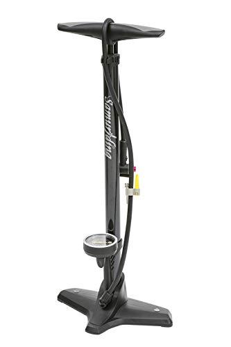 Samuriding自転車空気入れ仏式ロードバイククロスバイクフロアポンプエアゲージ付(SIG-FP007)