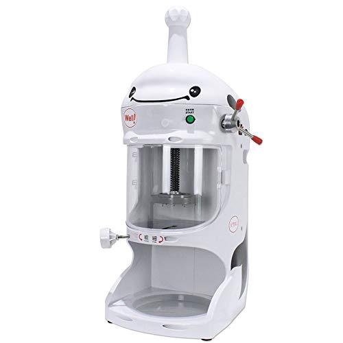 Eismaschine, Gewerbe Eismaschine, elektrische Schneeflocke-EIS-Maschine for Tea Shop, Eiszapfen Machine, Ice Crusher, mit Edelstahl-Einzel Messer