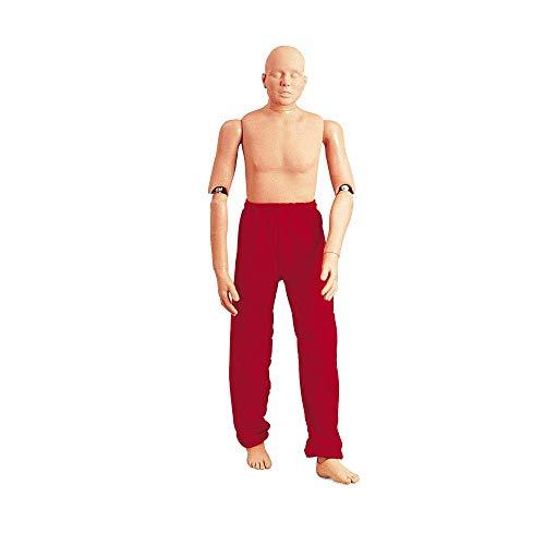 Erler Zimmer Rettungspuppe, Übungspuppe, Personenbergung, normaler Körper, 165 cm, 48 kg