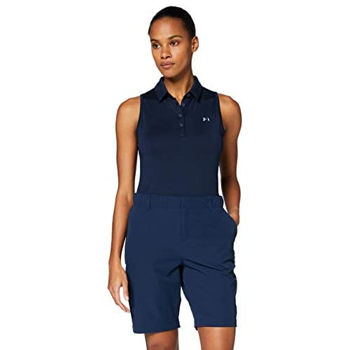Under Armour Zinger Sleeveless Polo, Donna, Blu, MD