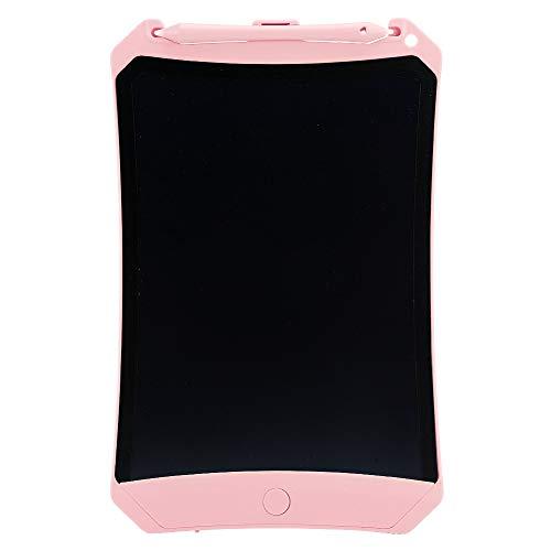 943 8,5 in Schreibtafel, LCD-Zeichenblock mit POM-Stiftkopf, mehrfarbige grafische elektronische Schreibtafel für Kinder, Geschenk für Familie/Kinder(Rosa)