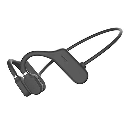 Trekz Auriculares de conducción ósea de Titanio, Auriculares inalámbricos Bluetooth Air Open Ear Sport con conducción ósea con micrófono - para Ciclismo, Carrera, conducción, Gimnasio