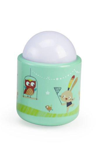 Preisvergleich Produktbild Pabobo - Natur - tragbare weiche LED-Licht für Baby und Kind - Wieder aufladbar - 70 Stunden Akkulaufzeit ohne Batterie - grün