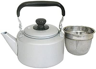 パール金属 プラセール アルミ ケットル 1.2L 茶こし付 H-9358