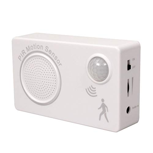 Mini PIR Motion Sensor-PIR Infrared Motion Sensor Activated-Sound Module -Audio Download - Easy to Record -Independent Living, Point of Sale Advertising, Door Greeter, Entry Alert