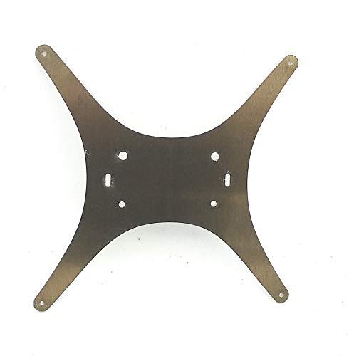 Turmberg3D - Supporto per letto termico Tevo Tarantula di CNC Kitchen – Heatbedholder, Y-Carriage – Stampante 3D (alluminio, grezzo, non gratis)