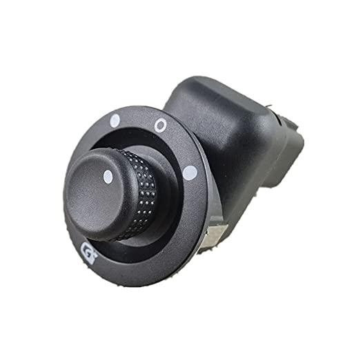 Botón Del Elevalunas Eléctrico Lateral Interruptor de control de botón de espejo retrovisor de coche Compatible con Renault Laguna II Megane 2 8200109014 8200676533 8200 676 533 Interruptor de ventana