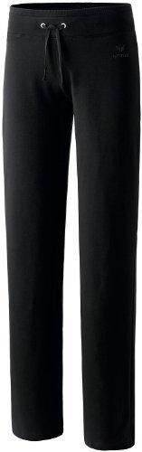 Erima Casual Basics Pantalon de survêtement Femme, Noir, FR : M (Taille Fabricant : 44/Long)