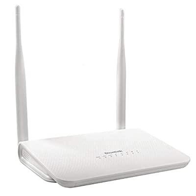 Dionlink Unlocked 4G/LTE CPE 300Mbps Mobile Wireless Router Antenna 3G 4G WiFi Router WFi Hotspot with SIM Card Slot Support AT&T T-Mobile Verizon Sprint Ting U.S Cellular SIM Card