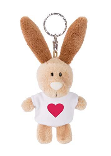 NICI 44729 Schlüsselanhänger Hase mit T-Shirt