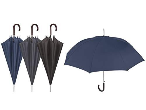 Paraguas Clásico, 92 cm, Negro
