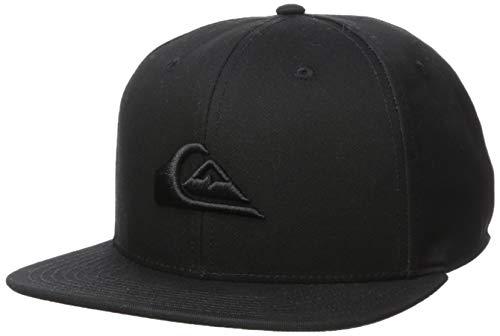 Quiksilver Herren CHOMPERS HAT Baseball Cap, schwarz, Einheitsgröße