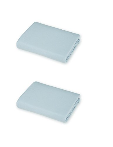 Buy Discount American Baby Company, Portable/Mini Crib Sheet (1, 2 Pack Blue)