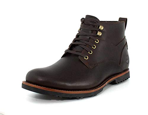 Timberland Mens Kendrick Waterproof Chukka Dark Brown Boot - 11
