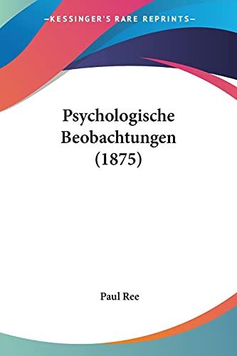 Psychologische Beobachtungen (1875)