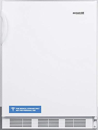 Summit Appliance FF7W Commercially Listed Freestanding All-Refrigerator for General Purpose Use with Flat Door Liner, Auto Defrost, Adjustable Shelves, Adjustable Thermostat and White Exterior